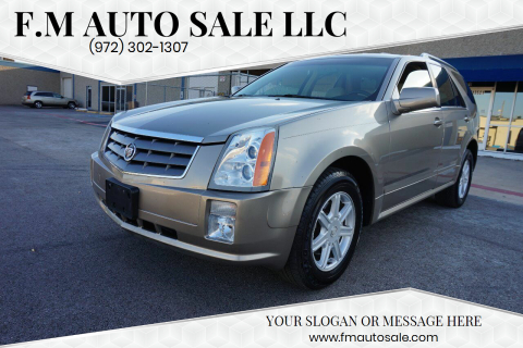 2004 Cadillac SRX for sale at F.M Auto Sale LLC in Dallas TX