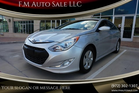 2012 Hyundai Sonata Hybrid for sale at F.M Auto Sale LLC in Dallas TX