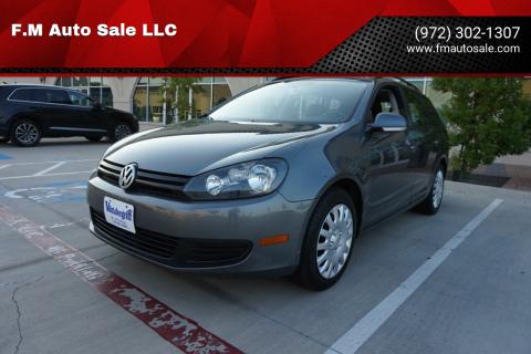 2013 Volkswagen Jetta for sale at F.M Auto Sale LLC in Dallas TX