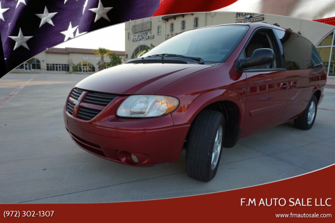2005 Dodge Grand Caravan for sale at F.M Auto Sale LLC in Dallas TX
