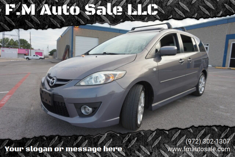 2008 Mazda MAZDA5 for sale at F.M Auto Sale LLC in Dallas TX