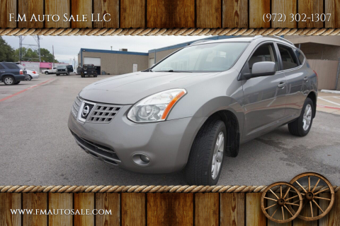 2008 Nissan Rogue for sale at F.M Auto Sale LLC in Dallas TX