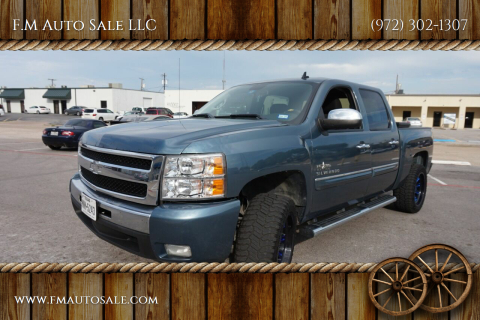 2011 Chevrolet Silverado 1500 for sale at F.M Auto Sale LLC in Dallas TX