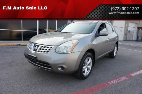 2010 Nissan Rogue for sale at F.M Auto Sale LLC in Dallas TX