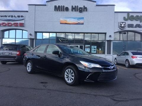 2016 Toyota Camry for sale in Butte, MT