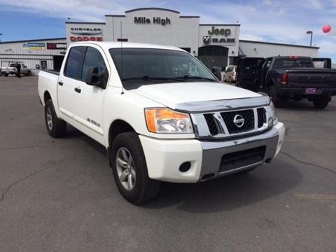2011 Nissan Titan for sale in Butte, MT