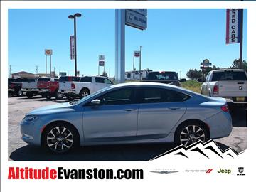 2015 Chrysler 200 for sale in Evanston, WY