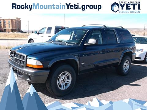 2002 Dodge Durango for sale in Evanston, WY