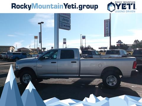 2018 RAM Ram Pickup 3500 for sale in Evanston, WY