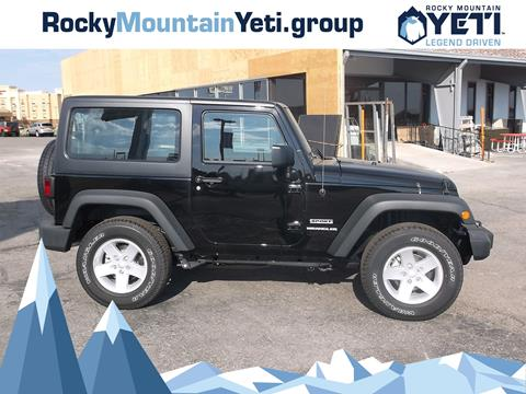 2017 Jeep Wrangler for sale in Evanston, WY