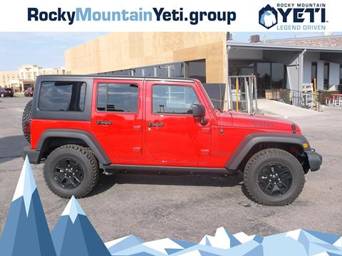 2017 Jeep Wrangler Unlimited for sale in Evanston, WY