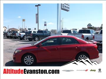 2009 Toyota Corolla for sale in Evanston, WY