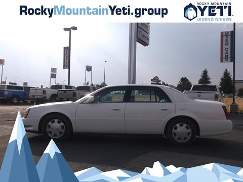 2004 Cadillac DeVille for sale in Evanston, WY