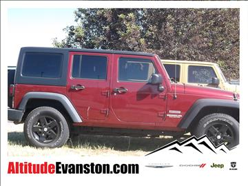 2012 Jeep Wrangler Unlimited for sale in Evanston, WY