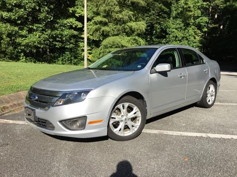 2012 Ford Fusion for sale in Newport News, VA