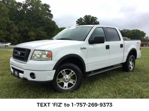 2008 Ford F-150 for sale in Newport News, VA