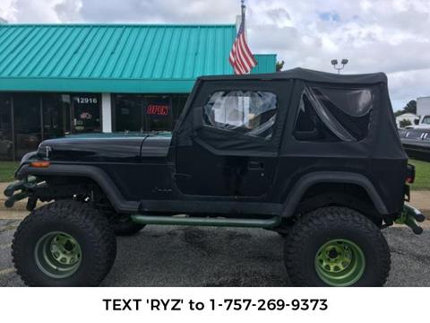 1993 Jeep Wrangler for sale in Newport News, VA