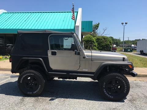 2004 Jeep Wrangler for sale in Newport News, VA