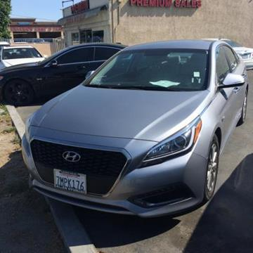 2016 Hyundai Sonata Hybrid for sale in Downey, CA