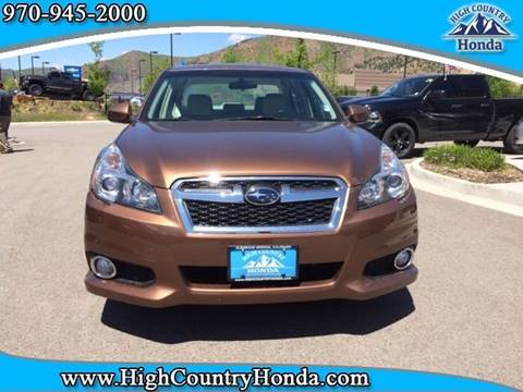 2013 Subaru Legacy for sale in Glenwood Springs, CO