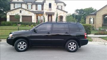 2007 Toyota Highlander for sale in Austin, TX