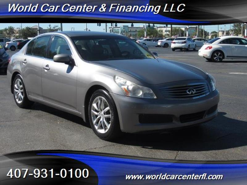 Infiniti G In Kissimmee FL WORLD CAR CENTER FINANCING LLC - Infiniti finance address