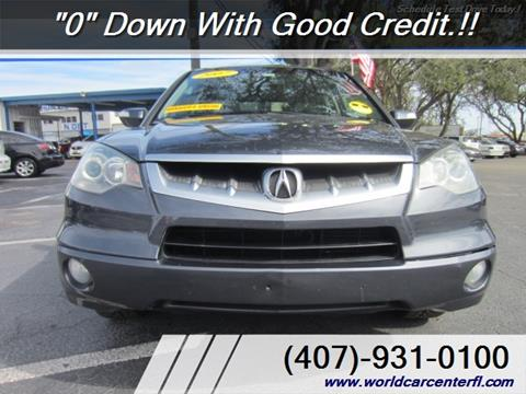 Acura Used Cars Bad Credit Auto Loans For Sale Kissimmee WORLD CAR - Acura special financing