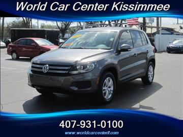 2013 Volkswagen Tiguan for sale in Kissimmee, FL