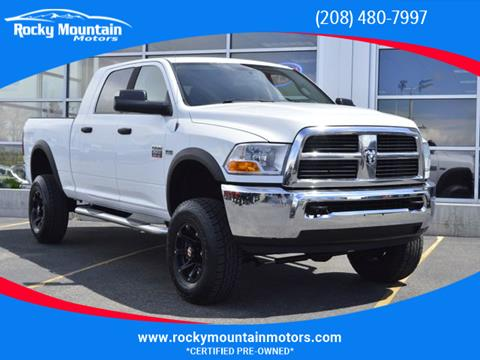 Ram 2500 For Sale >> 2010 Dodge Ram Pickup 2500 For Sale In Idaho Falls Id