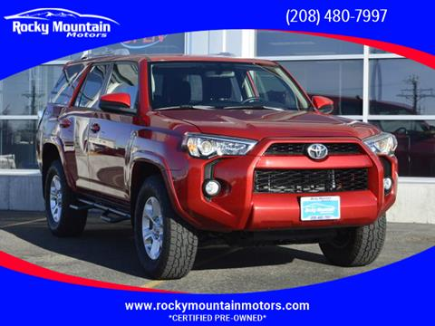 2016 Toyota 4Runner for sale in Idaho Falls, ID