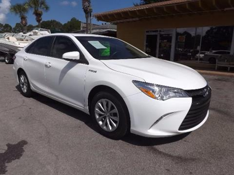 2016 Toyota Camry Hybrid for sale in Panama City, FL