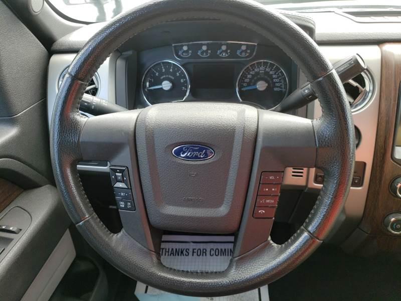 2013 Ford F-150 4x2 Lariat 4dr SuperCrew Styleside 5.5 ft. SB - Panama City FL