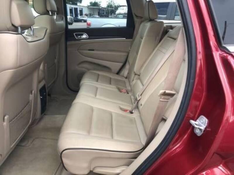 2014 Jeep Grand Cherokee 4x4 Overland 4dr SUV - Panama City FL