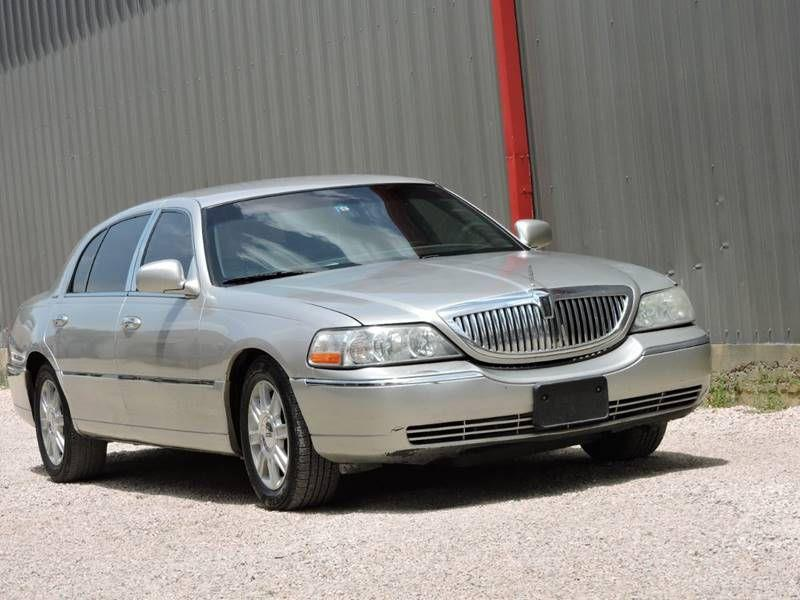 2010 Lincoln Town Car Executive L 4dr Sedan In Dallas Tx Allen