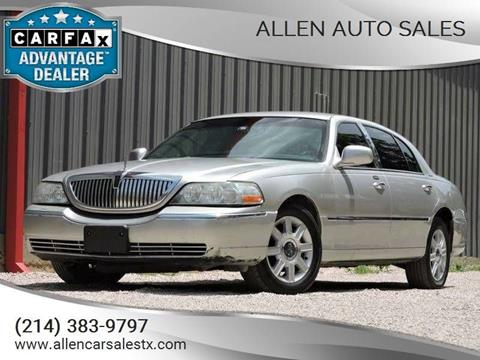2010 Lincoln Town Car For Sale In Pittsburgh Pa Carsforsale Com