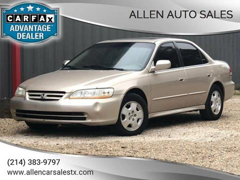 2002 Honda Accord For Sale In Dallas, TX
