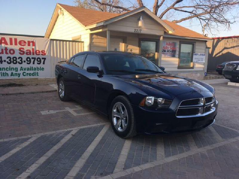 2014 Dodge Charger SE 4dr Sedan - Dallas TX