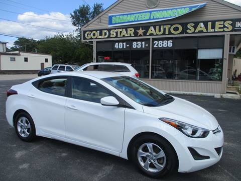 2015 Hyundai Elantra for sale in Johnston, RI