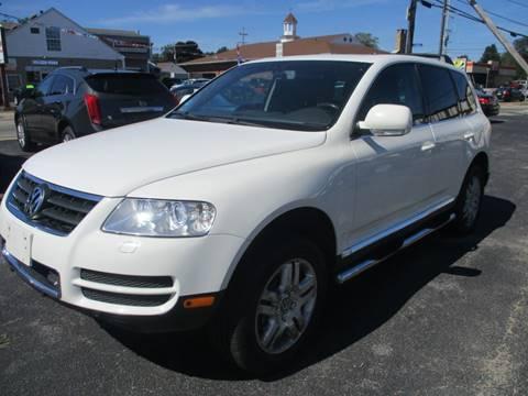 2004 Volkswagen Touareg V8 for sale at Gold Star Auto Sales in Johnston RI