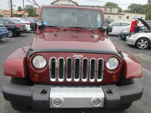 2008 Jeep Wrangler Unlimited Sahara for sale at Gold Star Auto Sales in Johnston RI