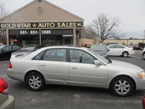 2000 Toyota Avalon XL for sale at Gold Star Auto Sales in Johnston RI