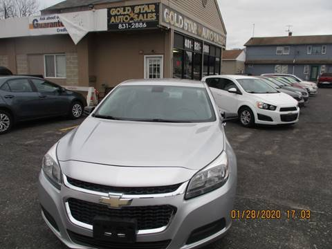 2014 Chevrolet Malibu LS Fleet for sale at Gold Star Auto Sales in Johnston RI