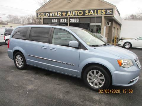 2013 Chrysler Town and Country Touring for sale at Gold Star Auto Sales in Johnston RI