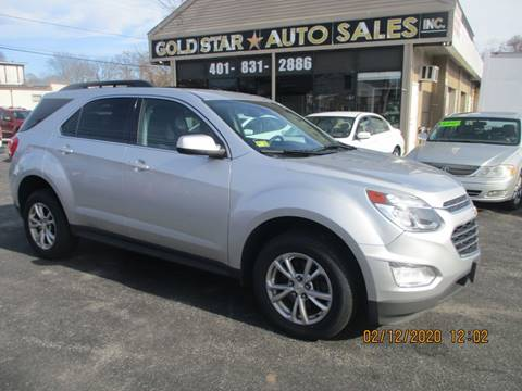 2016 Chevrolet Equinox LT for sale at Gold Star Auto Sales in Johnston RI