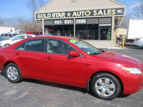2007 Toyota Camry LE for sale at Gold Star Auto Sales in Johnston RI