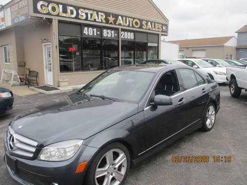 2010 Mercedes-Benz C-Class C 300 Sport 4MATIC for sale at Gold Star Auto Sales in Johnston RI