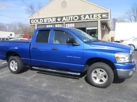 2007 Dodge Ram Pickup 1500 SLT for sale at Gold Star Auto Sales in Johnston RI