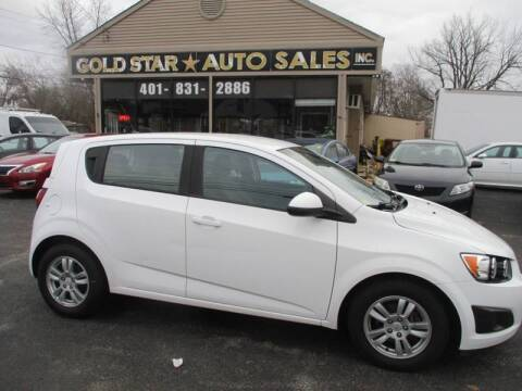 2012 Chevrolet Sonic LS for sale at Gold Star Auto Sales in Johnston RI