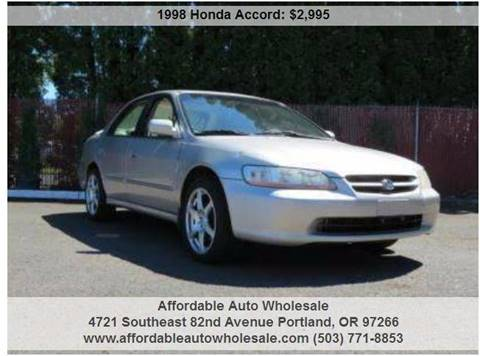 1998 Honda Accord for sale in Portland, OR