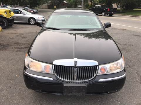 2001 Lincoln Town Car for sale in Rockland, MA